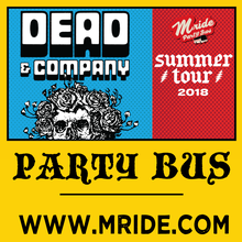 Dead & Company Party Bus to Shoreline Amphitheater 7/3