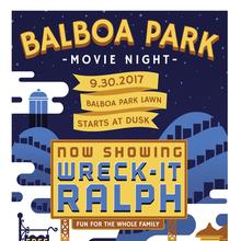 Balboa Park Movie Night: Wreck-It Ralph