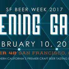 SF Beer Week Opening Gala 2017