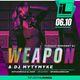 Infusion Tuesdays   DJ Weapon