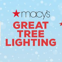 Macy's Tree Lighting at Union Square