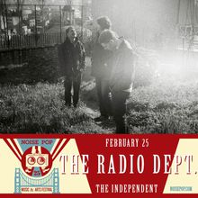 NP25: The Radio Dept. with GERMANS