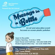 SF Surfrider Message in a Bottle Art and Education Family Day
