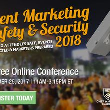 Event Marketing Safety and Security 2018