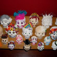 Making Sugar Skulls: