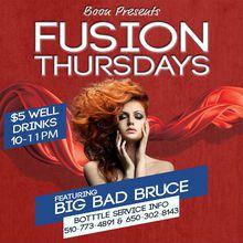 Fusion Thursdays Feat Guest DJs