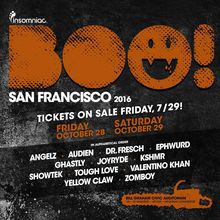 Insomniac presents Boo! San Francisco