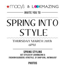 Spring into Style with Macy's and LookMazing
