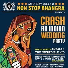 "Non Stop Bhangra ""Crash An Indian Wedding Party"""
