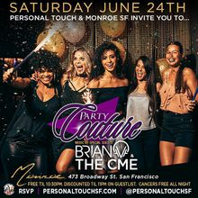 PARTY COUTURE w/ DJs BRIAN V & THE CME | FREE Til 10:30PM w/ RSVP