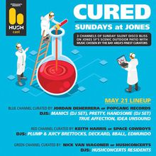 Cured Sundays - HUSHcast silent disco