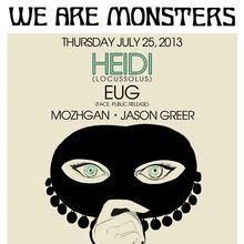 We Are Monsters: Heidi Lawden & Eug
