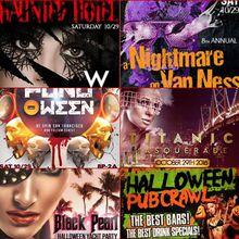 Halloween Wknd'16 Parties | 10.29.16