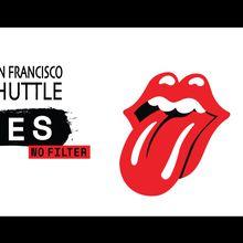 The Rolling Stones Levi's Stadium Shuttle Bus