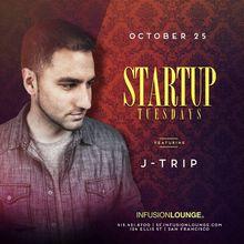 J-Trip at #StartupTues