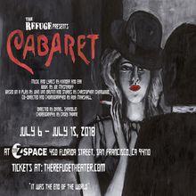 The Refuge presents CABARET at Z SPACE in San Francisco!