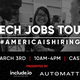 Tech Jobs Tour San Francisco | Career Fair & Speed Mentoring