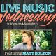 """SERVICE INDUSTRY WEDNESDAY"" featuring live music by ""MATT BOLTON"" (Rock & Pop Covers) at The Parlor SF"