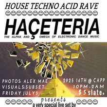 July Haceteria: C.L.A.W.S.