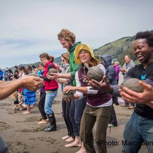Create-With-Nature Earth Day Celebration on Stinson Beach