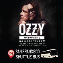 Ozzy Osbourne Shuttle Bus to Shoreline Amphitheatre