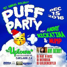 Andre Nickatina's 1st Annual Puff Party