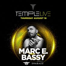 Temple Live feat. Marc E Bassy