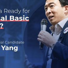 Presidential Candidate Andrew Yang in San Francisco