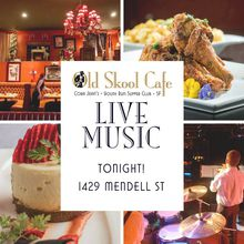 Live Jazz at Old Skool Cafe