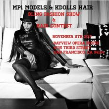 Mp1 Models & Kdoll's Hair Present's Their *Bling* Fashion Show & Hair Contest
