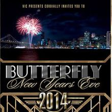 BUTTERFLY New Years Eve 2014 (Waterfront venue + TopShelf Open Bar)
