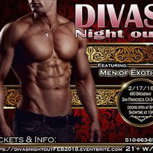 Divas night out with men of exotica at score bar and lounge in divas night out with men of exotica thecheapjerseys Choice Image