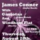 James Conner with Gaviotas and Windham Flat live at Submission Art Space!