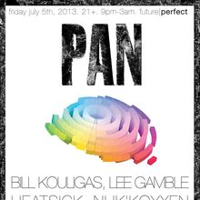 Pan Label Showcase: Bill Kouligas, Lee Gamble, Heatsick, NHK'KOYXEN