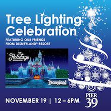PIER 39 Tree Lighting Celebration