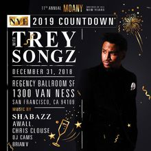 M.O.A.N.Y. New Years Eve 2019 with TREY SONGZ