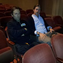 """On Cinema with Tim Heidecker and Gregg Turkington with """"Wired"""" at ..."""
