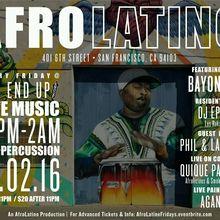 Afro Latino @ The EndUp 12/02/16