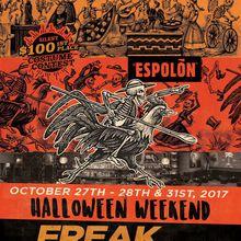 Freak Out Halloween Weekend