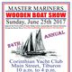 Wooden Boat Show - Sun June 25