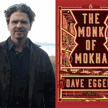 DAVE EGGERS & MOKHTAR ALKHANSHALI at Laurel Village