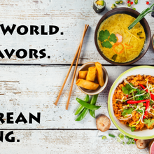 Small World. Big Flavors.