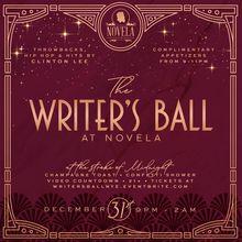 The Writers Ball NYE