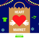 Heart Market: A Holiday Themed Marketplace