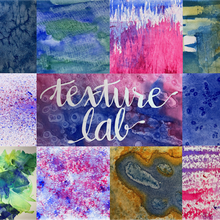 Watercolor Texture Lab - fun full-day painting workshop