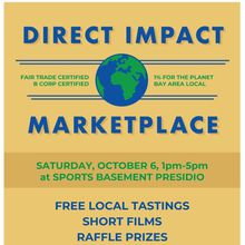Direct Impact Marketplace 2018 | Fair Trade, Local, B Corp + more!