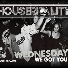 Housepitality ft. Francis Harris | Free Champagne 9pm-10pm
