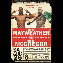 Mayweather vs. McGregor Viewing Party at Chief Sullivan's