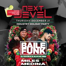 Next Level Thursday Industry Holiday Party feat. Lucas Med and Miles Medina