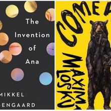 BOOKSMITH: Maxim Loskutoff (Come West and See) and Mikkel Rosengaard (The Invention of Ana)